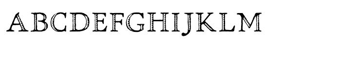 Greko Roman Oldstyle Font LOWERCASE