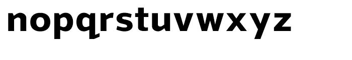 Grey Sans Bold Font LOWERCASE