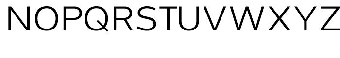 Grey Sans Regular Font UPPERCASE
