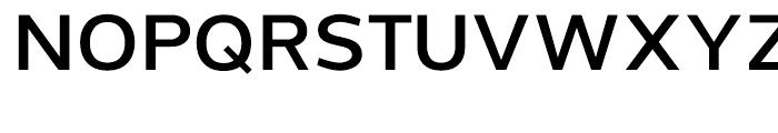 Grey Sans Semi Bold Font UPPERCASE