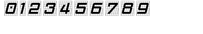 Gridlocker One Font OTHER CHARS