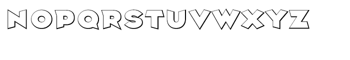 Griffin Shadow Font UPPERCASE