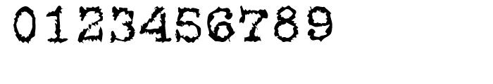 Gripewriter Regular Font OTHER CHARS