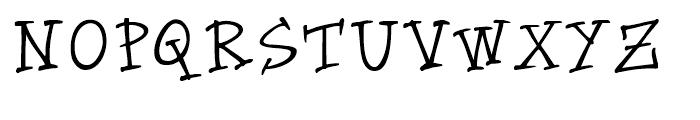 Groovin Up Slowly Regular Font UPPERCASE