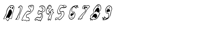 Groovy Ghosties Regular Font OTHER CHARS
