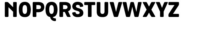 Grota Rounded ExtraBold Font UPPERCASE