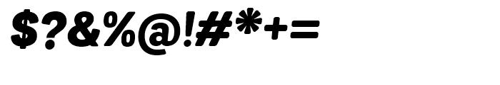 Grota Sans Rounded Alt Black Italic Font OTHER CHARS
