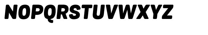 Grota Sans Rounded Alt Black Italic Font UPPERCASE