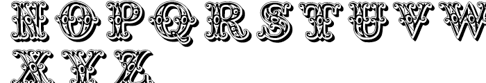 Grotesque Salloon Regular Font UPPERCASE