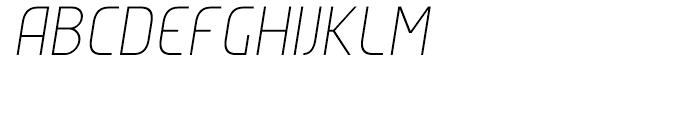 Group Sans Extra Light Oblique Font LOWERCASE