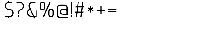 Group Sans Light Font OTHER CHARS