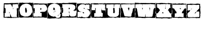 GrungeBob BF Regular Font LOWERCASE