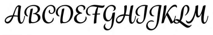 Grafolita Script Bold Font UPPERCASE
