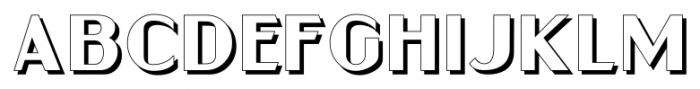 Gramercy Eight JNL Regular Font LOWERCASE