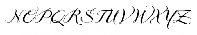 GrandezzaAlpha Regular Font UPPERCASE