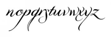 GrandezzaAlpha Regular Font LOWERCASE