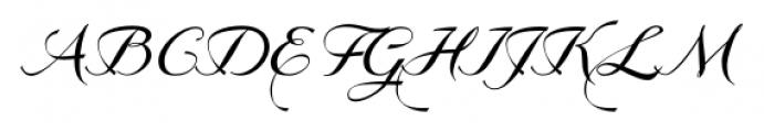 GrandezzaBravo Regular Font UPPERCASE