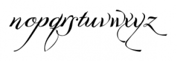 GrandezzaBravo Regular Font LOWERCASE