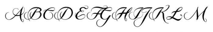GrandezzaCharlie Regular Font UPPERCASE