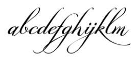 GrandezzaCharlie Regular Font LOWERCASE