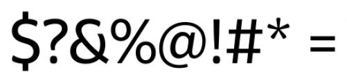 Graviola Regular Font OTHER CHARS