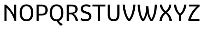 Graviola Regular Font UPPERCASE