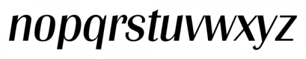 Grenoble Serial Italic Font LOWERCASE