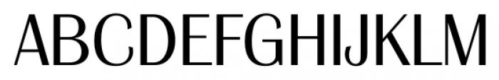 Grenoble Serial Light Font UPPERCASE