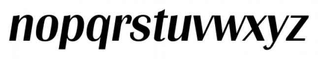 Grenoble Serial Medium Italic Font LOWERCASE