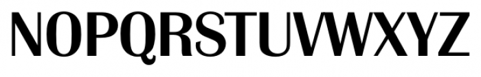 Grenoble Serial Medium Font UPPERCASE
