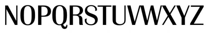 Grenoble Serial Regular Font UPPERCASE