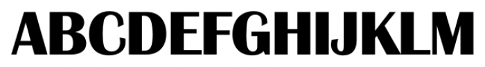 Grenoble Serial Xbold Font UPPERCASE