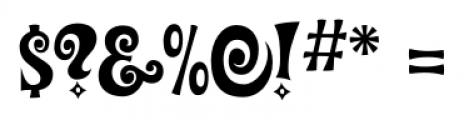 Groovy Happening JNL Regular Font OTHER CHARS