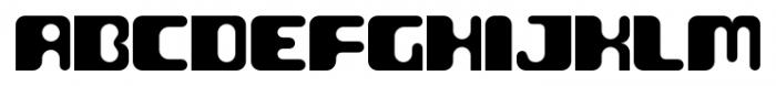 Groovy Regular Font UPPERCASE
