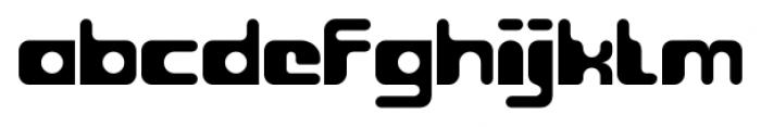 Groovy Regular Font LOWERCASE