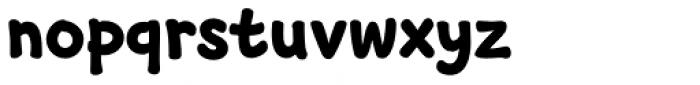 GR onsoo Script Bold Font LOWERCASE