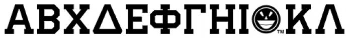 GRK1 Ivy No.2 Font UPPERCASE