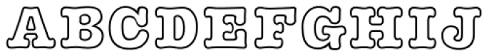 GRK1 Plushy Out Font LOWERCASE