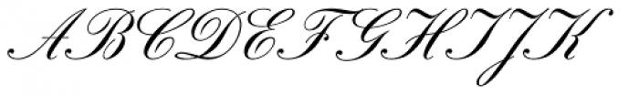 Gracia Solo AS No 44 Font UPPERCASE