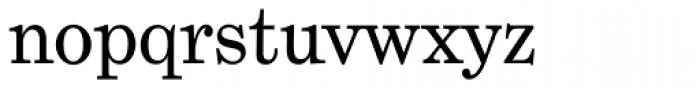 Grad Font LOWERCASE
