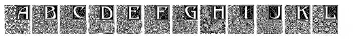Gradl Initialen Medium Font UPPERCASE