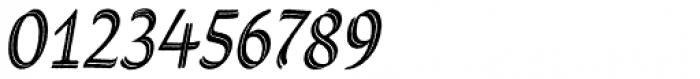 Grafema LC 35 Italic Rough Font OTHER CHARS