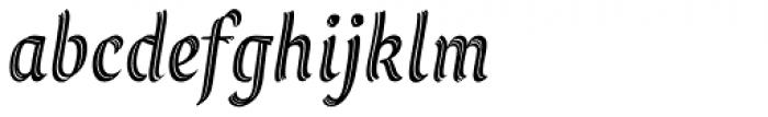 Grafema LC 35 Italic Font LOWERCASE