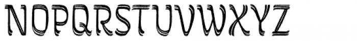 Grafema LC 85 Regular Rough Font UPPERCASE
