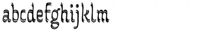 Grafema LC 85 Regular Rough Font LOWERCASE