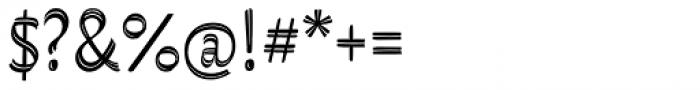 Grafema LC 85 Regular Font OTHER CHARS