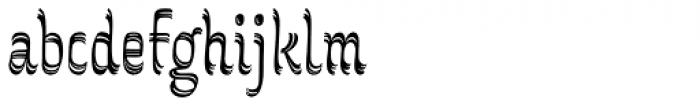 Grafema LC 85 Regular Font LOWERCASE