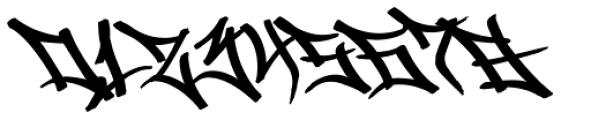 Graffiti Drips Font OTHER CHARS