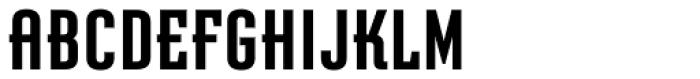 Graficz OT Bold Font UPPERCASE