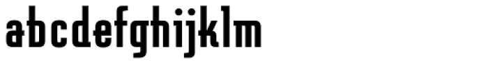 Graficz OT Bold Font LOWERCASE